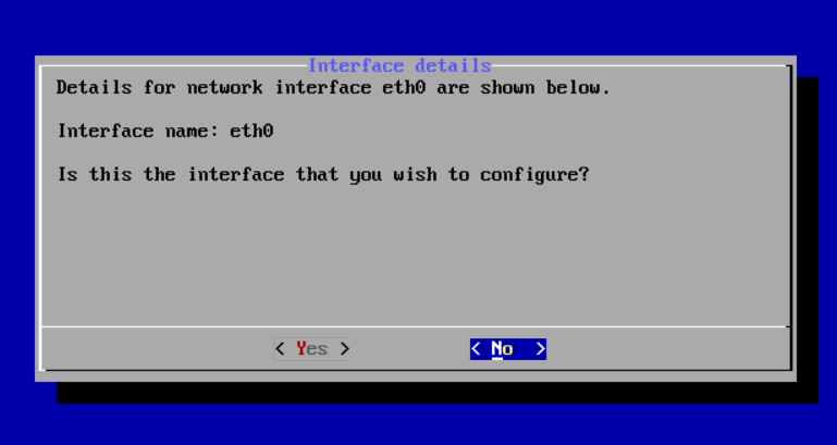 net interface